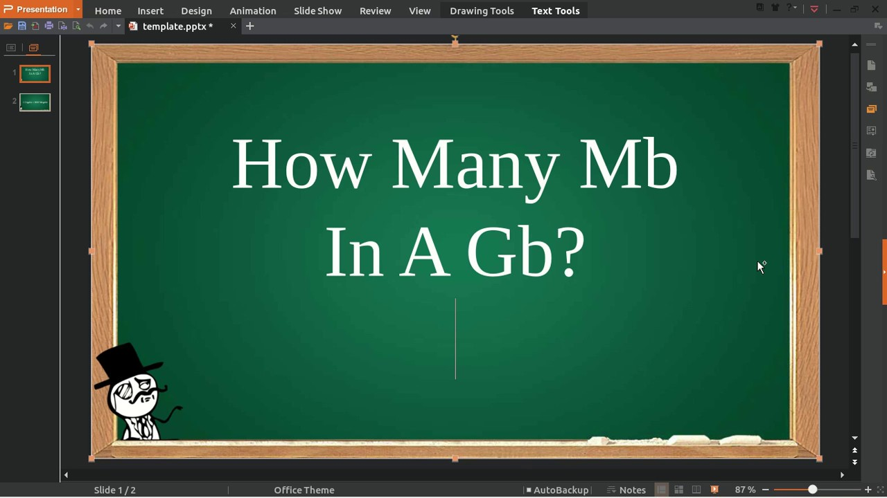 Mb In Gb