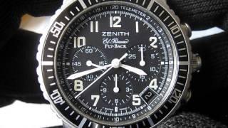 Zenith EL Primero Rainbow Flyback Chronograph Ref.02.0470.405 No.10199x Function Testing