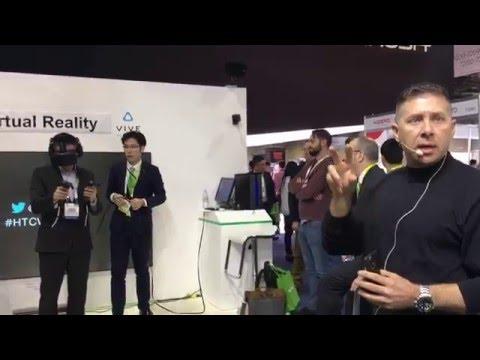 CES 2016 NIDEC Main Show (AGV Drone)