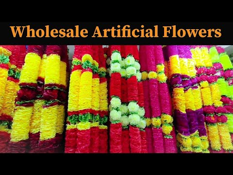 Wholesale Cheapest Artificial Flowers, Plants, Wall Hangings, Interior Designer Items