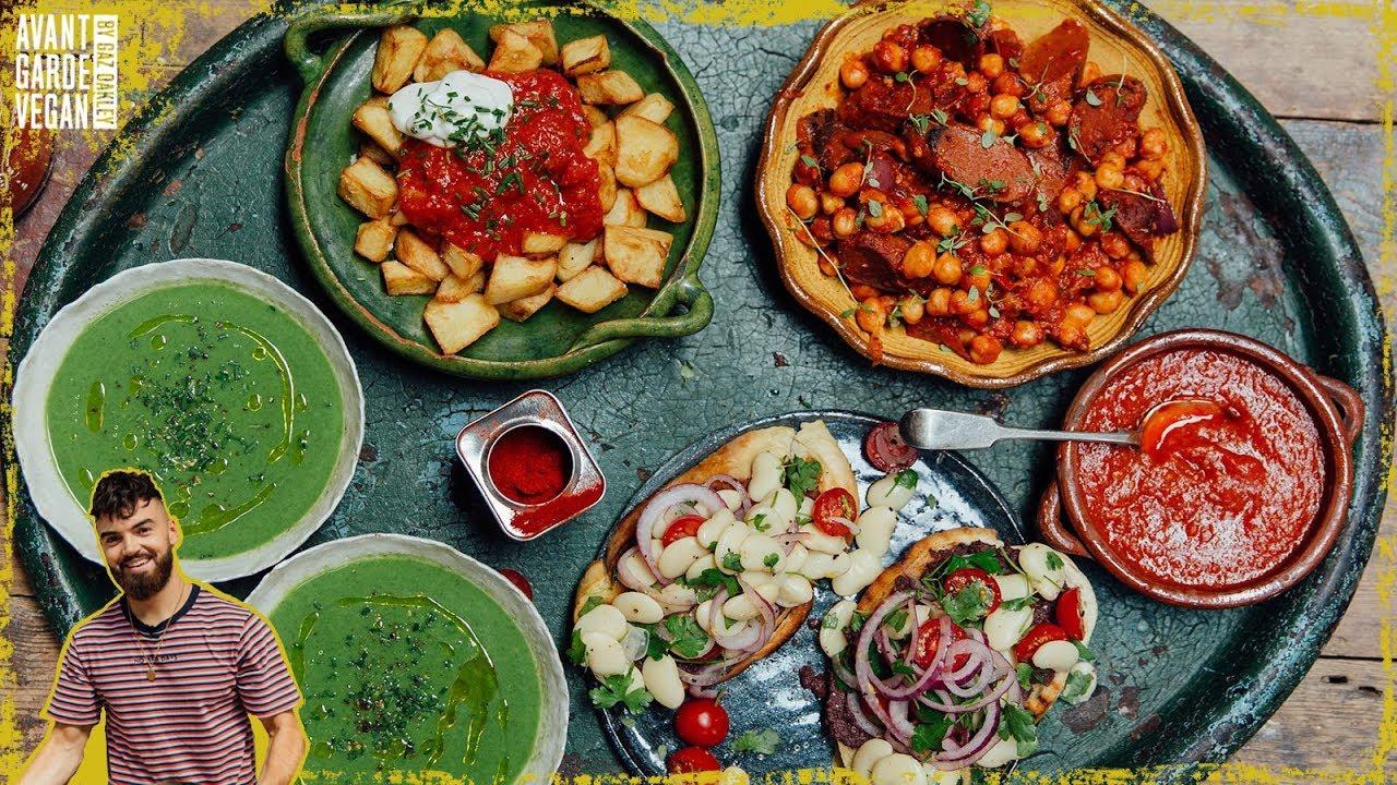 TAPAS..incredible, simple vegan tapas recipes.
