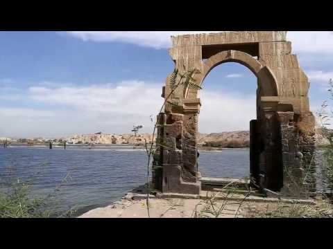 The Original Door of the Philae Temple ~ The Gateway To the Goddess, Isis
