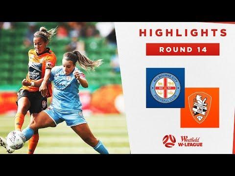 Highlights: Melbourne City V Brisbane Roar – Round 14 Westfield W-League 2019/20 Season