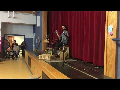 Suitcase Junket at Elm Hill School in Springfield VT - 2.15.18