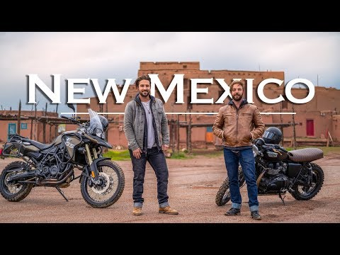 New Mexico Motorcycle Road Trip | Santa Fe to Taos Pueblo