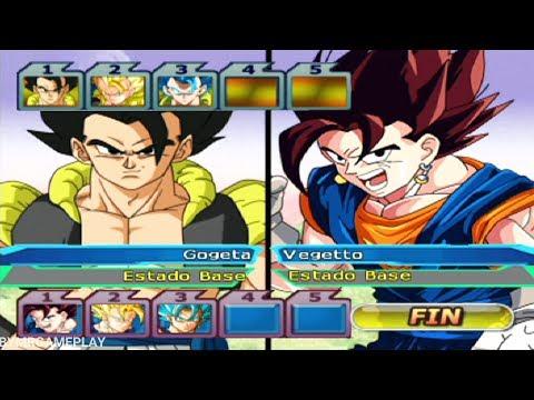 Dragon Ball Z: Budokai Tenkaichi 3 Gogeta All Forms Vs Vegetto All Forms