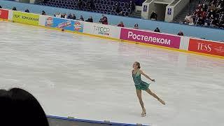 Александра Трусова Короткая программа 4 этап кубка России по фигурному катанию 2020 2021 г Казань