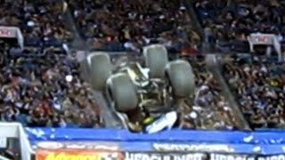 Nitro Circus Backflip at Monster Truck Jam 2010 Jacksonville