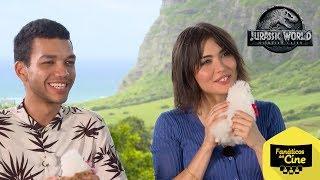 """Daniella y Justice: """"Nos sentimos bienvenidos en Jurassic World: El Reino Caído"""""""
