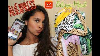 2019 AliExpress Under $10 dollar Bikini Haul // 2020