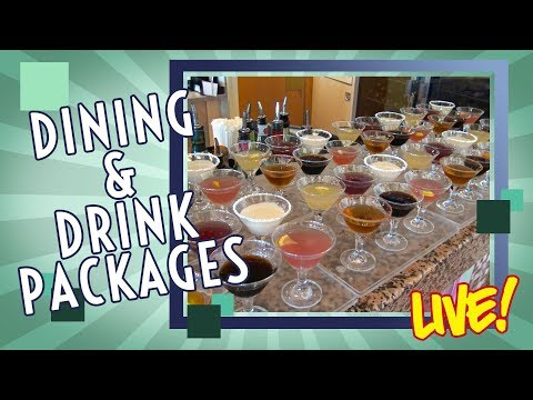 Dining and Drink Packages Cruise Tips