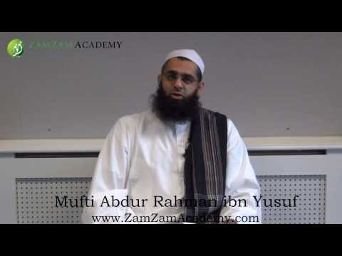 Q&A - Muslim Clothing: What to Show and What not to Show in Weddings by Mufti Abdur Rahman ibn Yusuf
