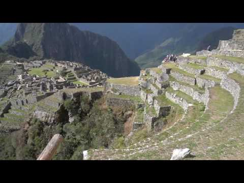 World famous Machu Pichu in 4K