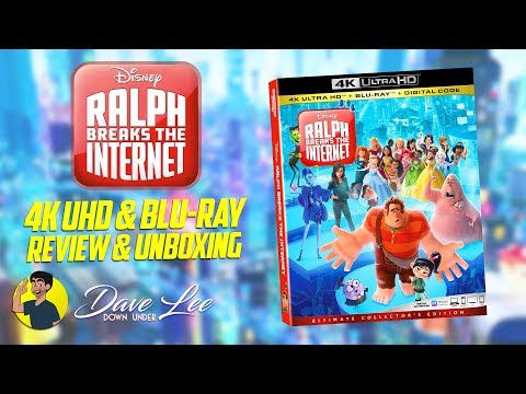 RALPH BREAKS THE INTERNET - 4K & Blu-ray Review And Unboxing