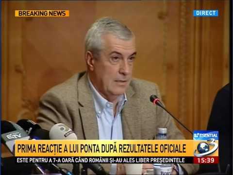Tăriceanu: Klaus Iohannis rămâne o persoană inadecvată pentru funcţia de preşedinte ( HD )
