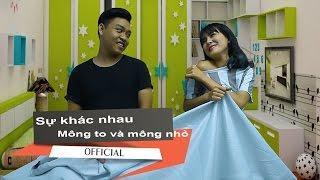 [QuayTV] Tập 6 - Sự Khác Nhau Giữa Mông To Và Mông Lép - Clip hài 2015