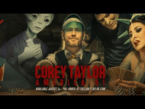 Corey Taylor's 'America 51' - Trump, Hillary + the Angriest Book Yet by Slipknot's Vocalist