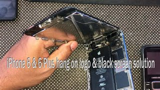 iPhone 6 Hang on logo & black screen problem solution July 2021