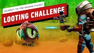 Journey to the Savage Planet Looting Challenge
