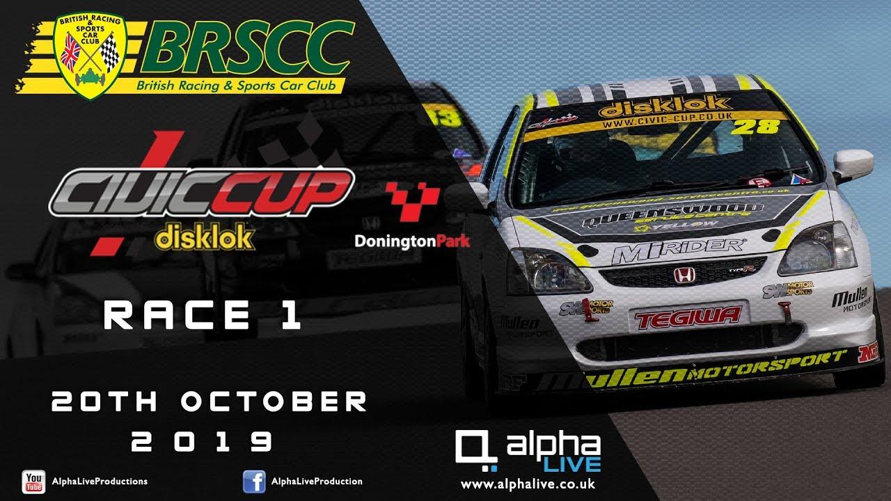 Civic Cup 2019 Donington Race 1