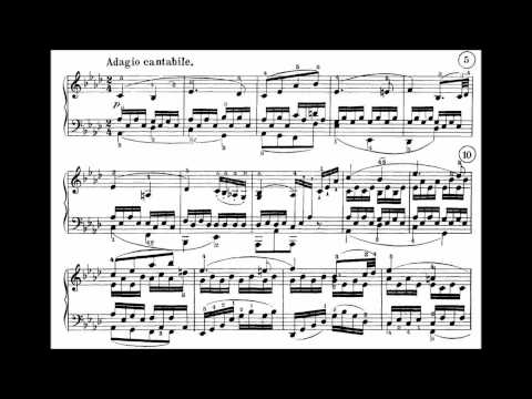Beethoven  Sonata No 8 in C minor, Op 13 Pathetique, Complete with Sheet Music