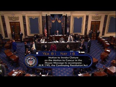 Senado de EEUU logra acuerdo para reabrir gobierno federal