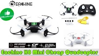 ✔ Eachine H8 Mini - самый дешевый квадрик! Cheapest Quadcopter! Banggood