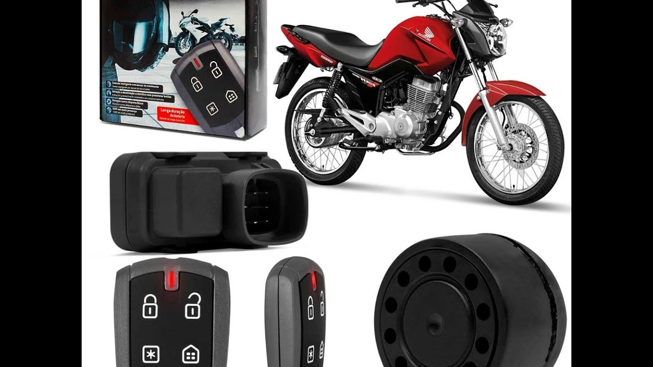 como instalar alarme na moto