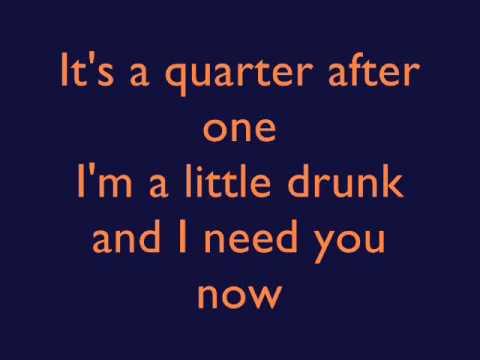 Lady Antebellum - Need You Now - Lyrics