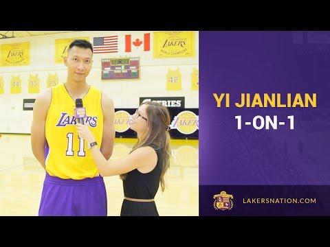 Lakers Nation Interviews Yi Jianlian