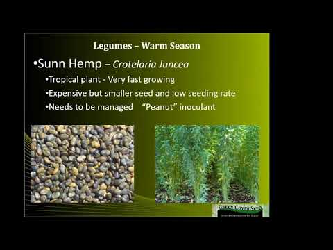 Delaware Soil Health Partnership 2-21-18 Workshop- Keith Berns & Cover Crop Species