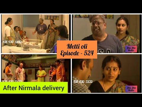 Metti Oli 524 Episode || After Nirmala Delivery || மெட்டி ஒலி சீரியல்