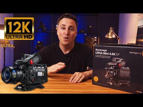 Hands on with 12k Footage (Blackmagic URSA Mini Pro 12K)
