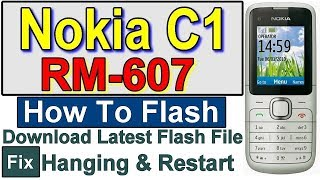 Nokia C1 RM-607 flash with UFS-3 for Hang On Start and Restart by Gulzo