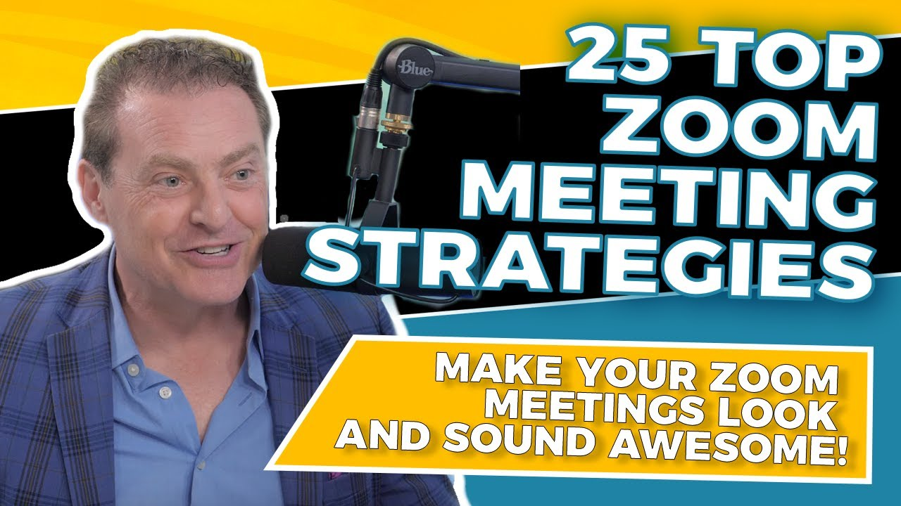 Zoom Tips 25 Strategies to Make Your Zoom Meetings & Webinars AWESOME