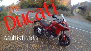 A some what excited rider review of the new Ducati Multistrada