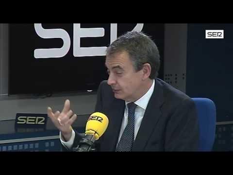 Entrevista completa de José Luis Rodríguez Zapatero en 'Hoy por Hoy'. Cadena SER