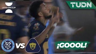 ¡REVIVEN! Rogéiro hace el gol de Pumas | New York 1-1 Pumas | Leagues Cup 2021 Cuartos final