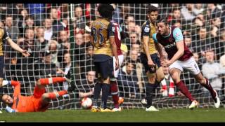 West Ham 3-3 Arsenal: Andy Carroll scores a hat-trick for Slaven Bilic