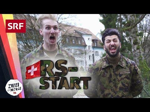 Der RS-Start – wie das Militär wirklich ist | Zwei am Morge
