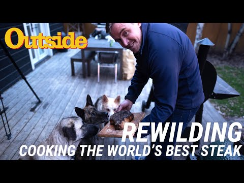 How To Cook The Best Steak In The World | Outside