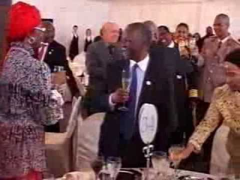 Pan African Business Forum - Ladislas Prosper AGBESI-Investiture of the President Jacob Zuma