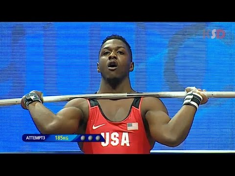 CJ Cummings(USA) broke the IWF YOUTH record 2017 | IWF YOUTH WORLD CHAMPIONSHIPS [Men 69KG Group A]