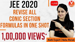 All Conic Sections Formulas in 1 Shot | JEE Mains 2020 Preparation | Vedantu