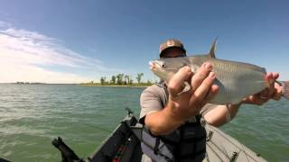 Drifting Powerplant Lake Blue Catfish Coffee County Nuke KS USA