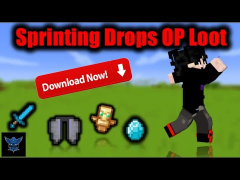 How to download sprinting drop op loot mod minecraft   Minecraft, but sprinting drop op loot
