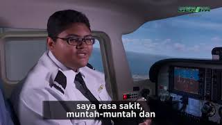 Singapore's 15 Year Old Youngest Licensed Pilot
