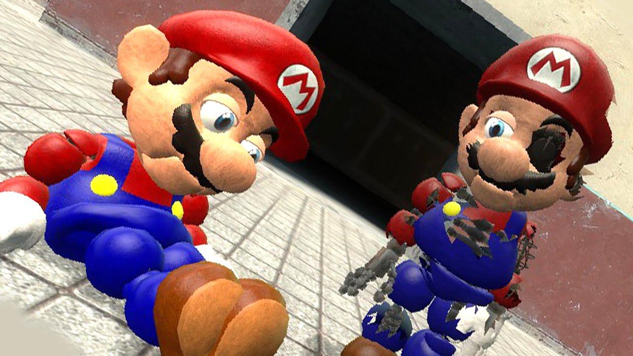 ANIMATRONIC MARIO 2! | Gmod Scary Super Mario Bros  Mod (Garry's Mod)