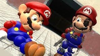 ANIMATRONIC MARIO 2! | Gmod Scary Super Mario Bros. Mod (Garry's Mod)