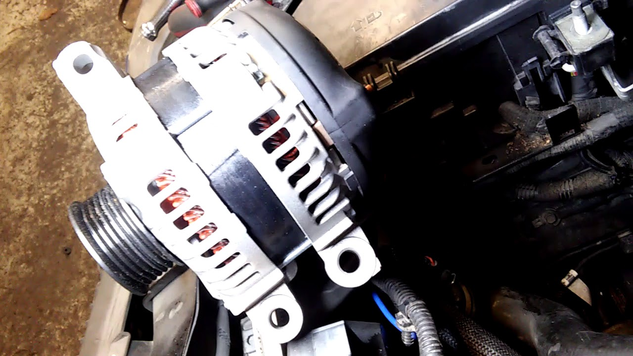 How To Replace Alternator In A 2009 Cadillac Cts